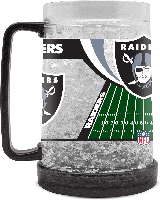 NFL Oakland Raiders 16oz Crystal Freezer Mug