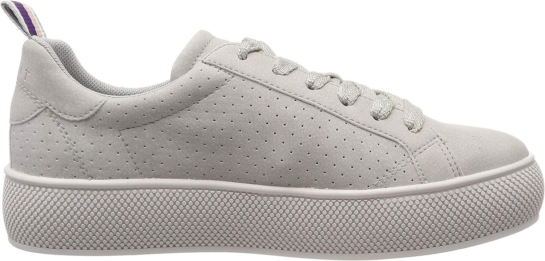 ESPRIT Damen Babika Lu Sneaker Grau Light Grey 040
