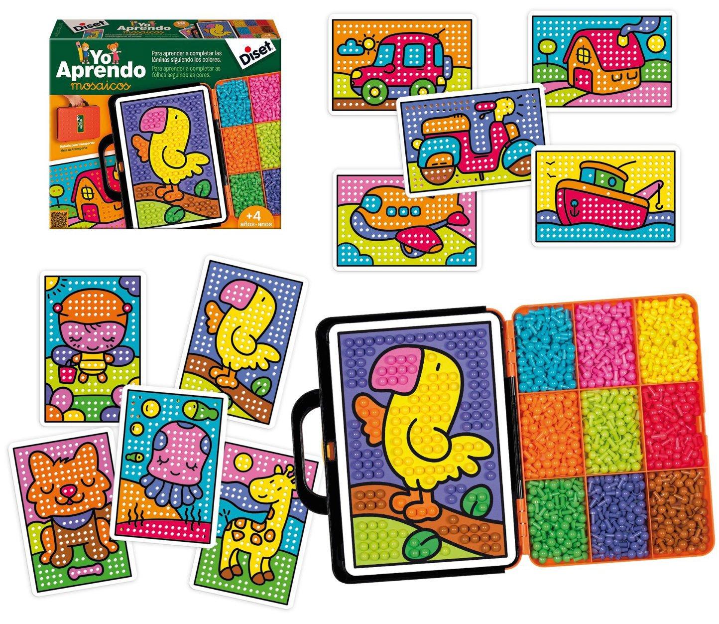 Diset Yo aprendo–Mosaïque, jouet éducatif 63758