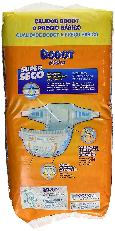 Dodot Basico - Pañales, talla 3, 4 -10 kg, 50 unidades: Amazon.es: Amazon Pantry