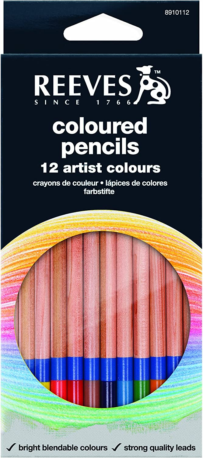 Reeves Coloured Pencils,Set of 12