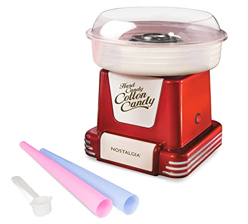 Nostalgia Pcm805retrored Retro Cotton Candy Maker