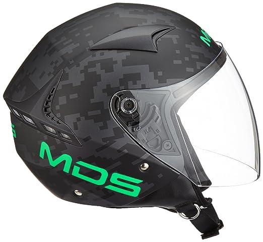 Amazon.es: AGV Helmets Casco Jet G240 MDS E2205, color Plata (Eternum Argenté/Italy), talla XS