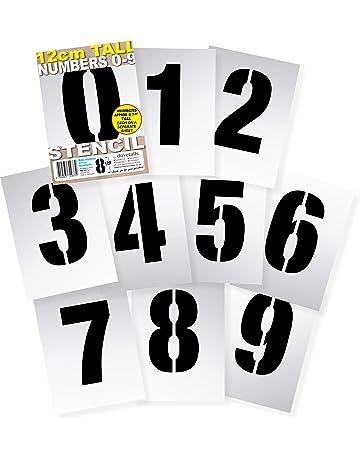 Meetory 15 piezas Hojas de plantilla en blanco 4 mil 12 X 12 pulgadas cuadradas en Blanco Mylar