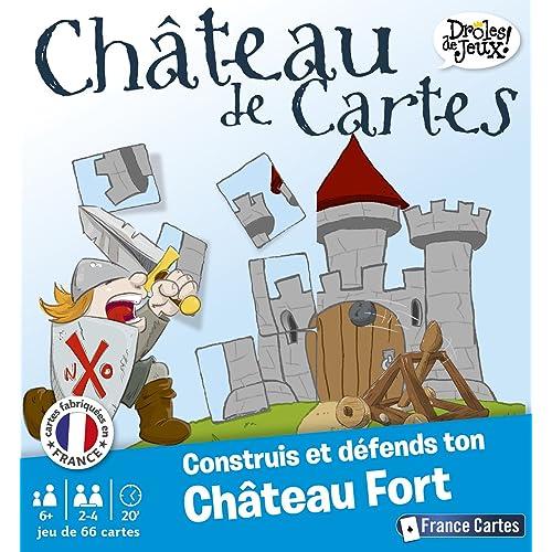 Drôles De Jeux 410440 - Château De Cartes - Jeu De Cartes