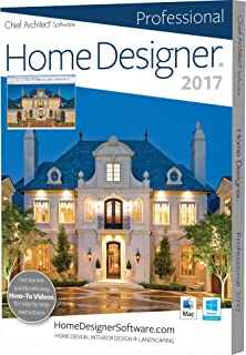Attractive Home Designer Pro 2017 (PC/Mac)