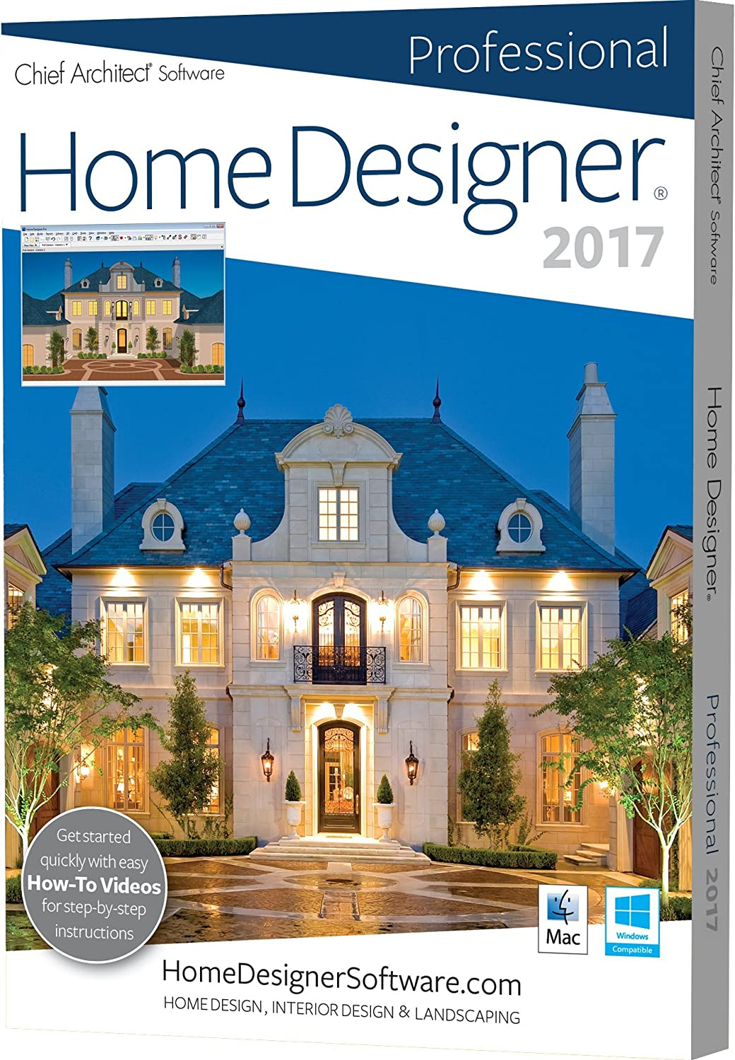 Amazoncom Chief Architect Home Designer Pro 2017 Software