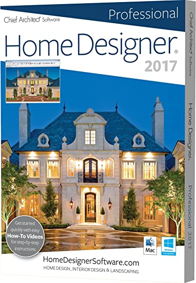 amazon com chief architect home designer pro 2017 software