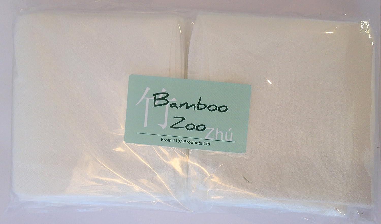 dise/ño de cuadrados Talla:30cm x 30cm Muselina de bamb/ú 12 Pack