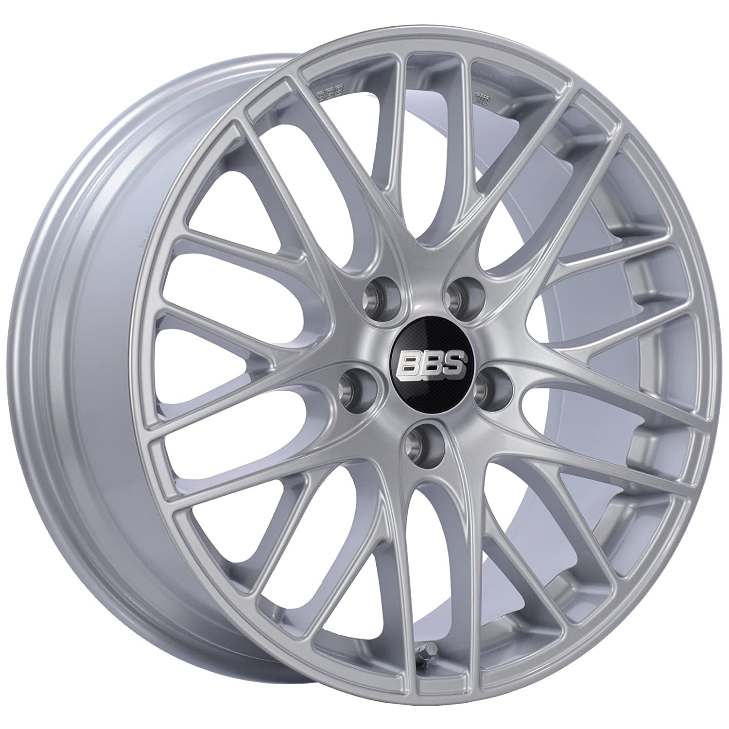 Amazon com: BBS CS-5 Silver Wheel with Painted Finish and