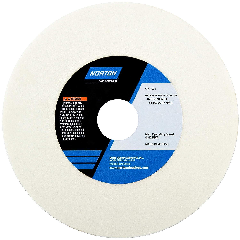 White Grinding Wheel AO 8x1x1 T1 150G