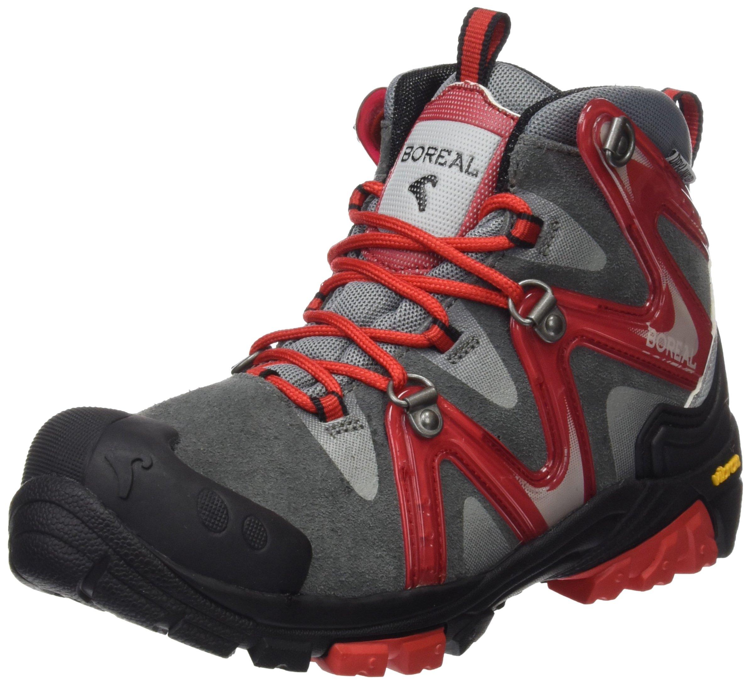 Boreal Climbing Boots Kids Aspen Lightweight 38 Gray Red 40130