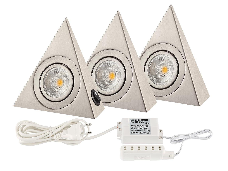 kitchen light cob led under cabinet lights 160 lumen each basic rh amazon co uk