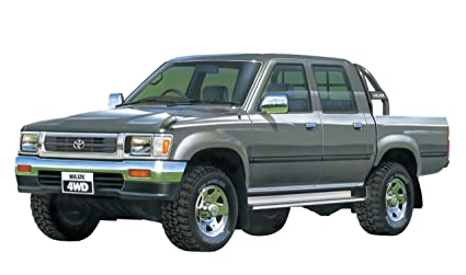 Buy Model Rectifier Corp-Aoshima 1/24 Toyota Hilux Double Cab 4 Wd