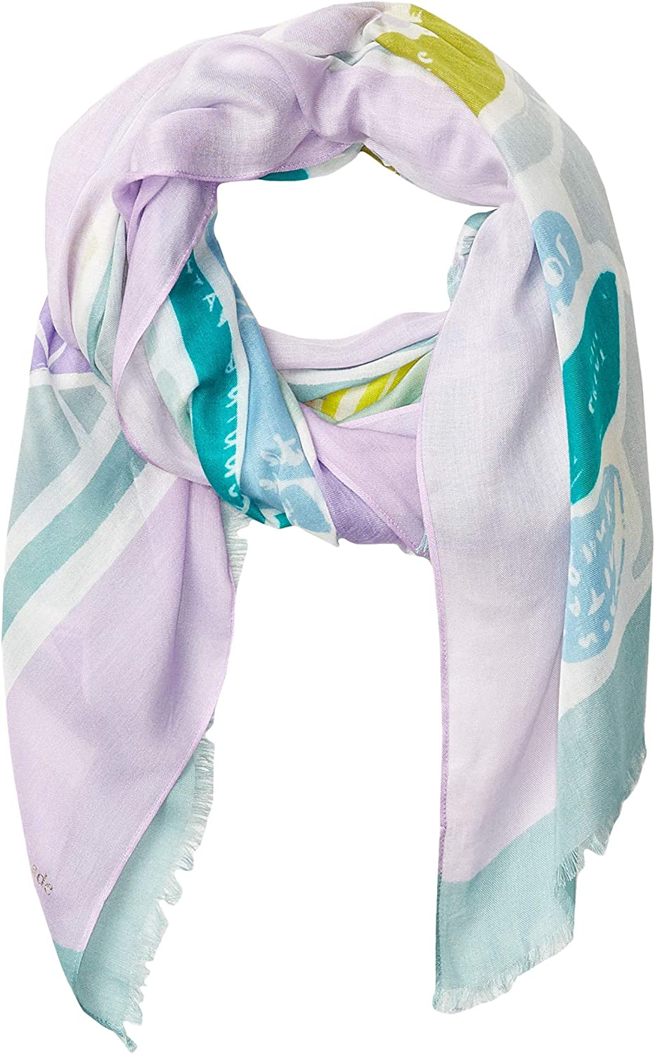 Kate Spade New York Central Park Map Oblong Scarf