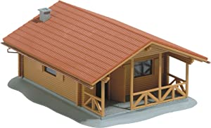 Busch 1035 Log Cabin HO Structure Scale Model Structure