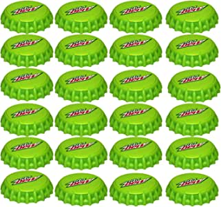 Jokari 24 Count MTN Dew Modern Logo Snap and Sip Can Caps, Green