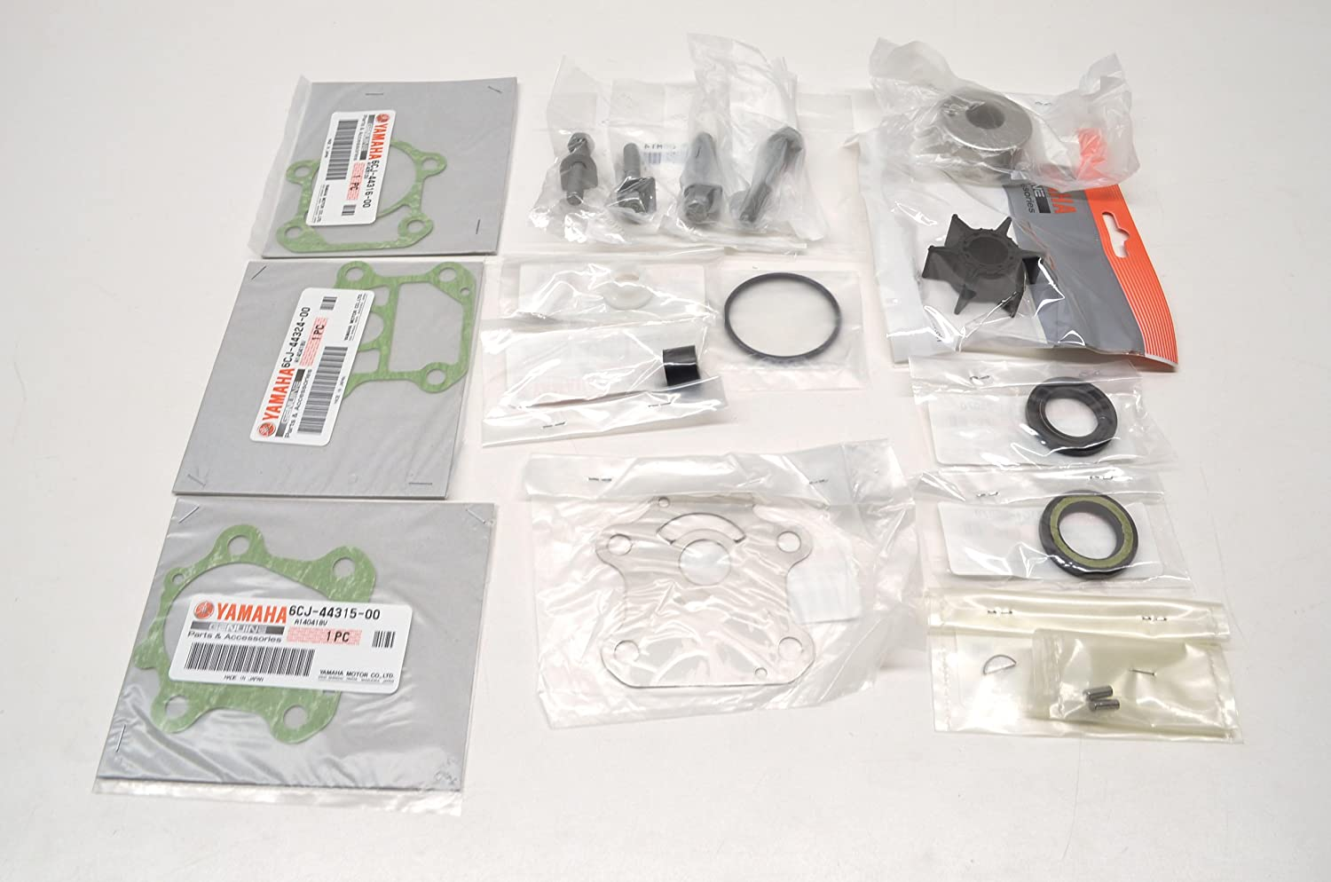 Yamaha OEM F70 Outboard Water Pump Repair Kit 6CJ-W0078-00-00