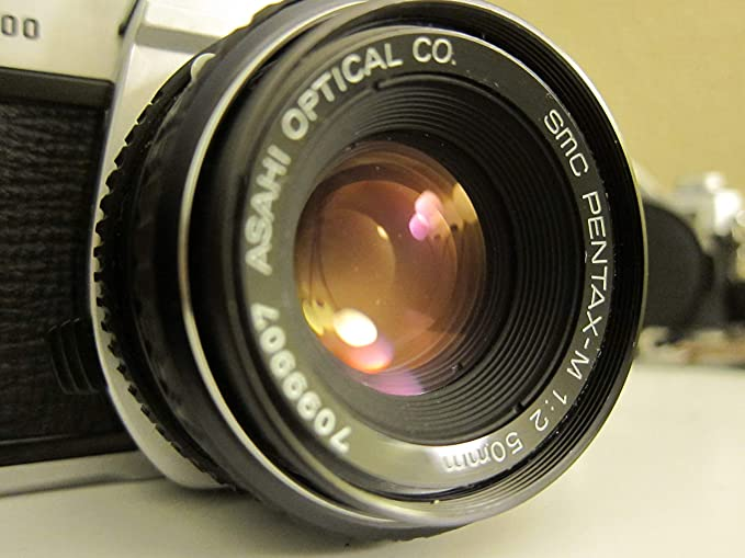 Pentax Cámara K1000 con 50 mm (/ 2.0 f) de la Lente tamaño ...