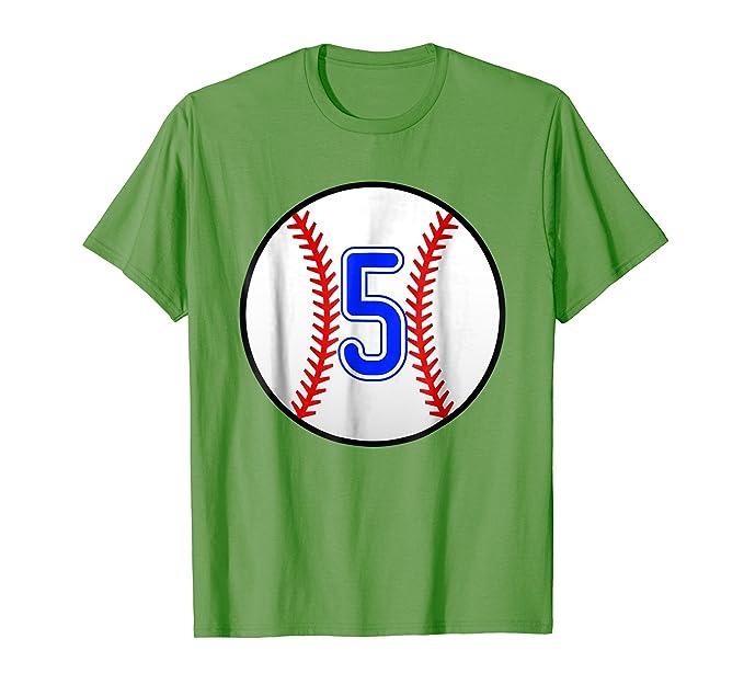 Mens Kids Baseball Shirt