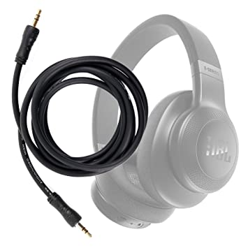 DURAGADGET Cable De Audio para Auriculares JBL E55BT (2017) / JBL E55BT Quincy Edition