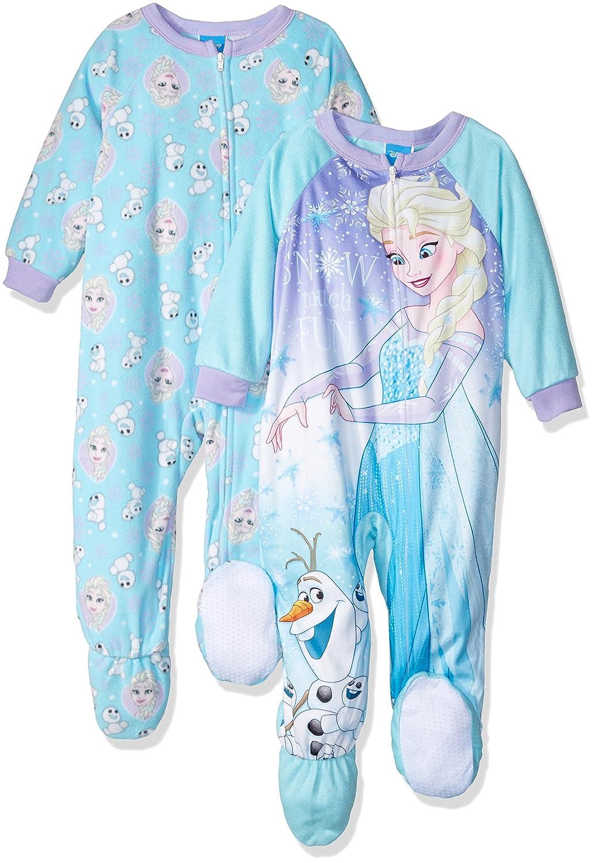 218229157 Disney Girls Frozen Elsa 2-Pack Fleece Blanket Sleeper Blanket ...