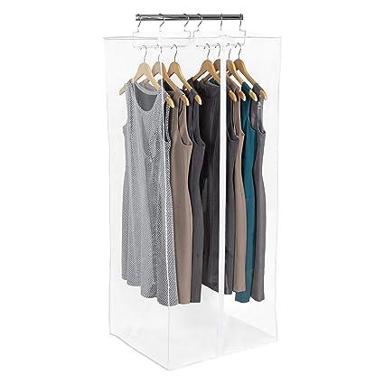 5658aab396 Amazon.com  Richards Homewares CLRLY ORG Dress Bag Clearly Organized Jumbo  Garment Closet 24
