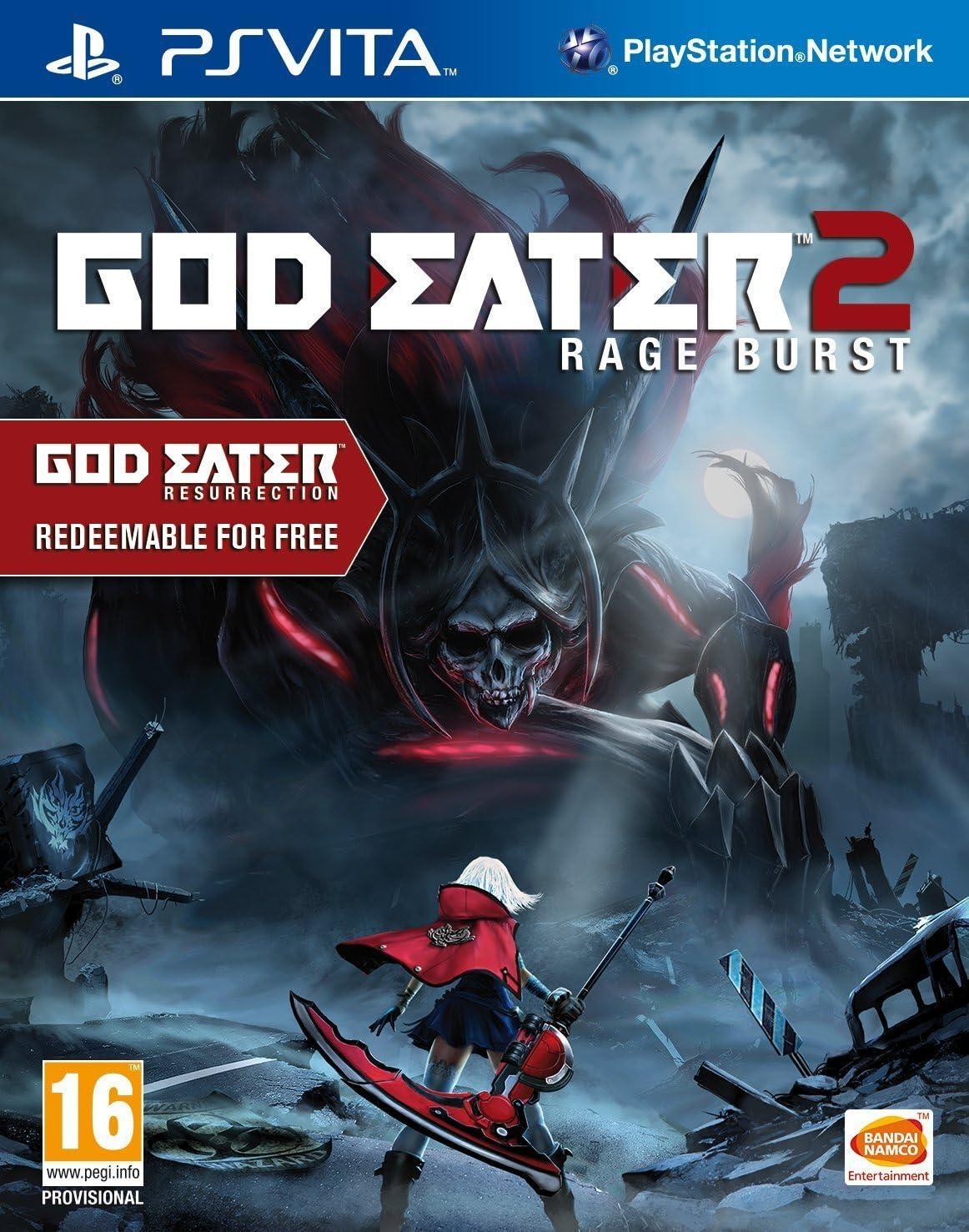 God Eater 2: Rage Burst (Includes God Eater Resurrection) (Playstation Vita)