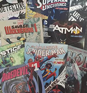 Comic Lot 76 Books All Makers