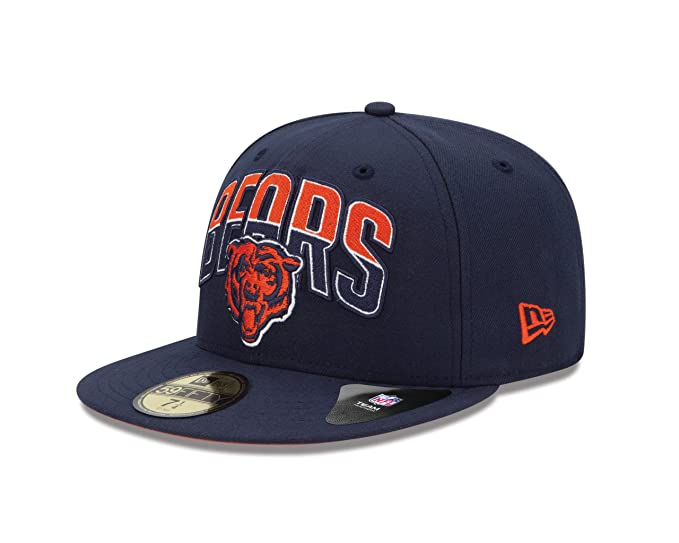 Amazon.com   NFL Chicago Bears 2013 Draft 59FIFTY Fitted Cap Blue 65360e5dc