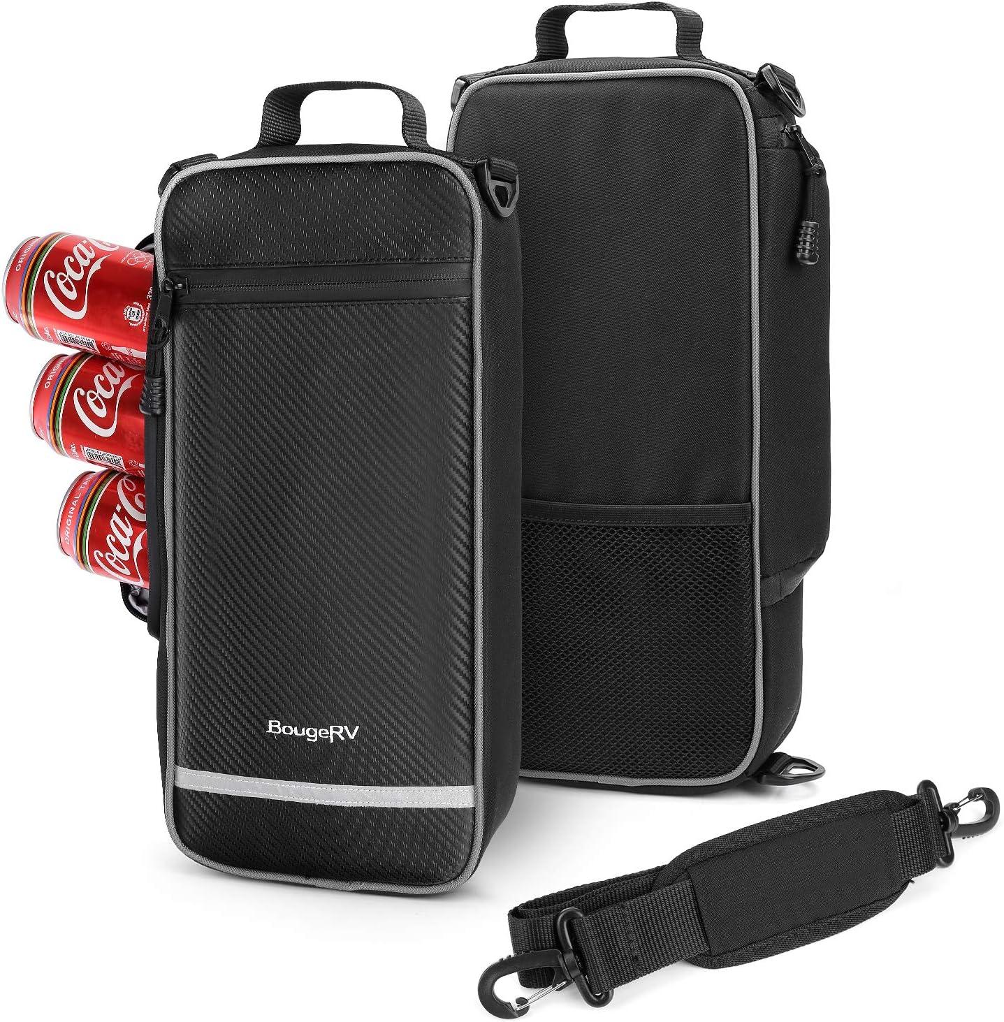 BougeRV Golf Cooler Bag, Soft Side Insulated Cooler, 6 Can or 2 Bottle of Wine Capacity, Built-in Bottle Opener,1 Pack
