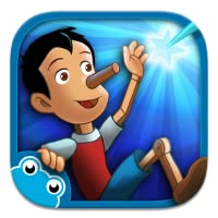 Pinocchio - Interactive book for kids