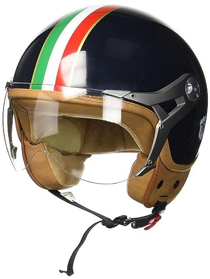 MOTO HELMETS White Vintage Jet-Helmet Pilot Biker Retro Chopper Bobber Vespa-Helmet Cruiser Scooter-Helmet ECE,DOT certified yellow
