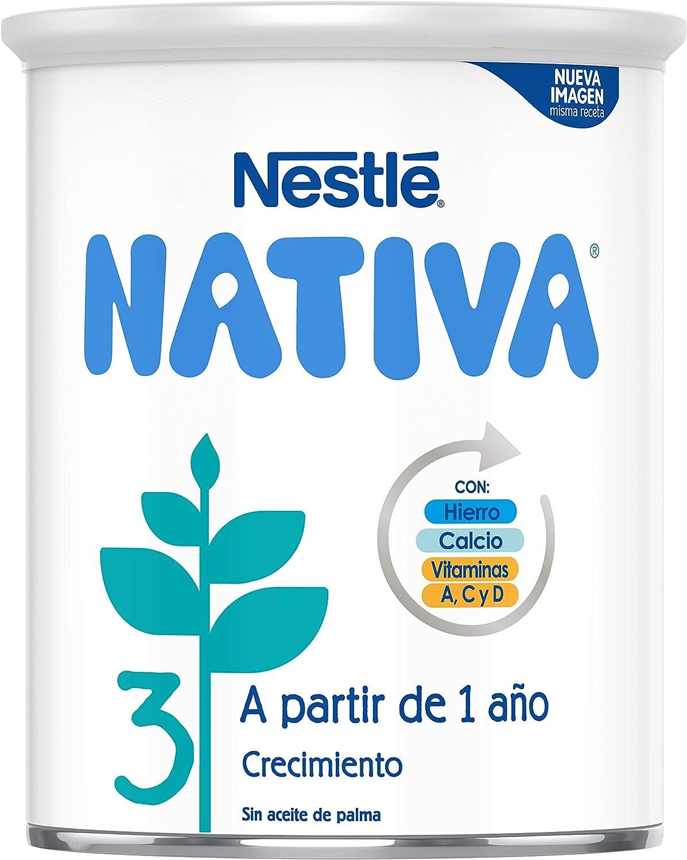 Nestlé Nativa 3 Leche de Crecimiento en Polvo Fórmula Infantil ...