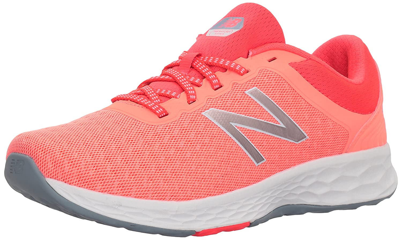 New Balance Women's Fresh Foam Kaymin v1 Running Shoe B06XSFGF84 12 D US|Fiji/Vivid Coral