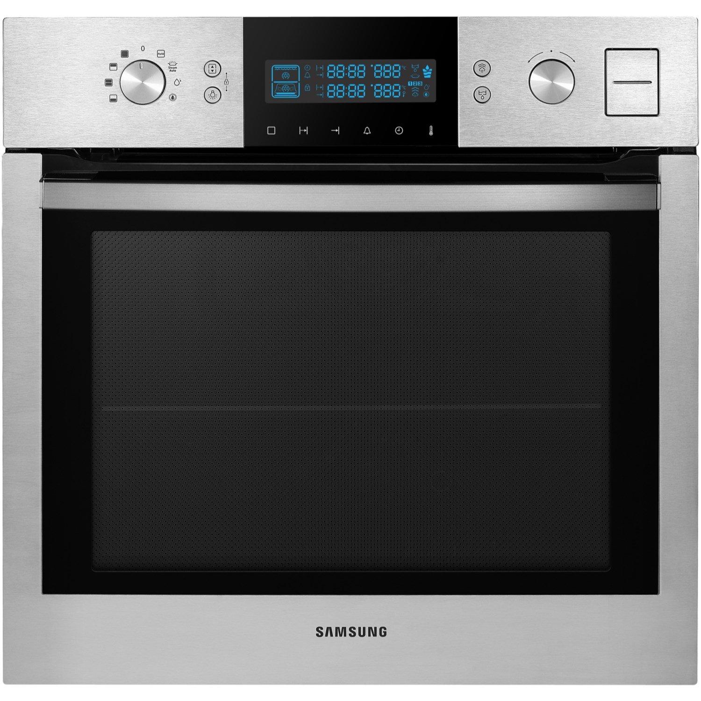 Samsung BQ1VD6T131 - Horno (65L, 1200W, Eléctrico, Incorporado, Acero inoxidable, Botones, Giratorio, Tocar): Amazon.es: Hogar