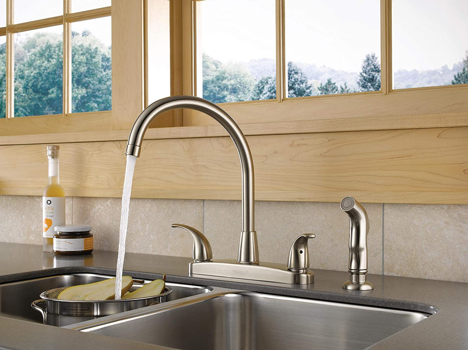 best two handle kitchen faucets