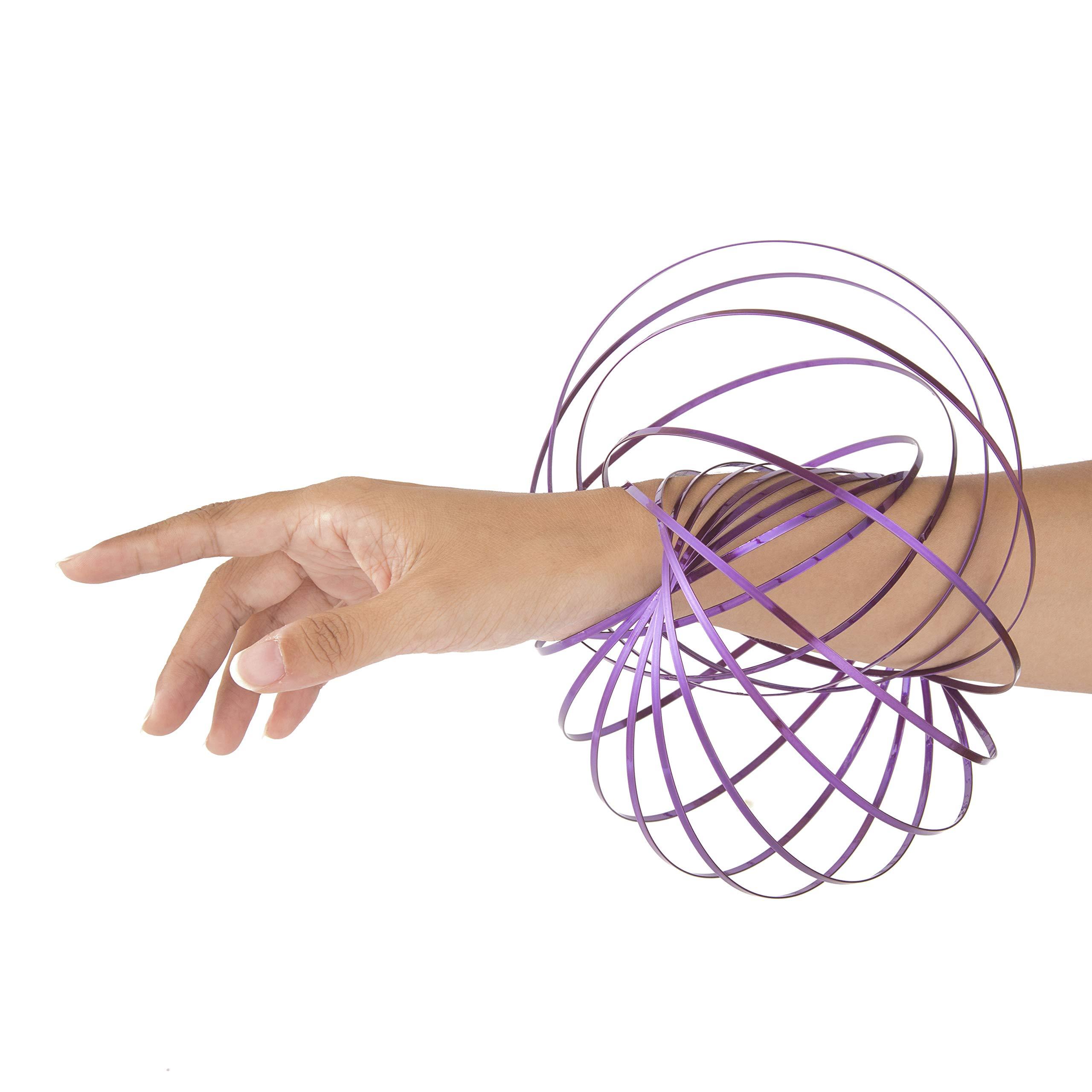 KELZ KIDZ Kinetic 3D Flow Rings Made from High Grade Stainless Steel (12 Pack Assorted) by KELZ KIDZ (Image #4)