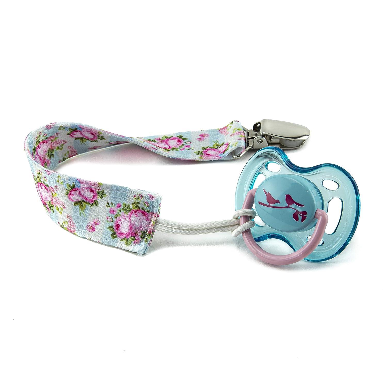 Amazon.com: Adorn Gift - Clips para chupete de bebé, 6 ...