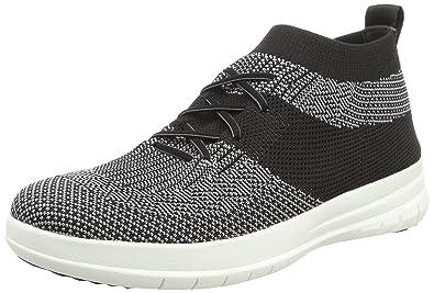 a3acde95d7eca9 FitFlop Men s UBERKNITSLIP-ON HIGH TOP Sneaker Shoe