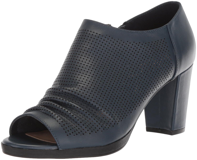 Bella Vita Women's Liza Platform B0781ZQ8W4 9 N US|Navy Leather