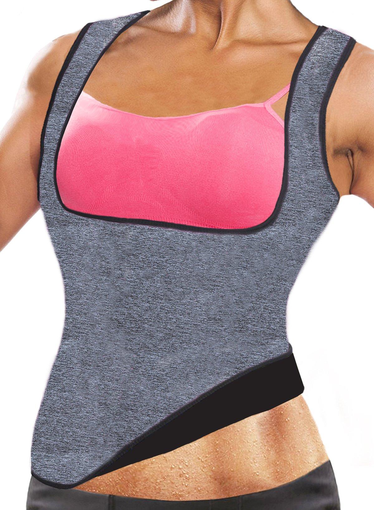 ab998cc389 Hot Shapers Neoprene Sauna Sweat Vest Waist Trainer Waist Trainer