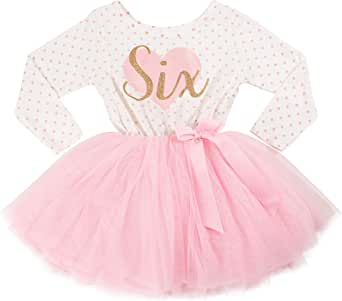 Grace & Lucille 6th Birthday Dress (Long Sleeve)