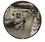 See All Circular Glass Indoor Convex Security Mirror, 43 cm (18 pulgadas)