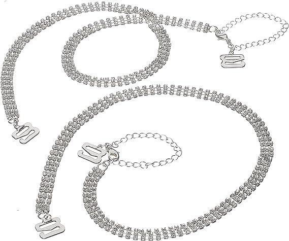 Pretty Lacey Pattern Detachable Removable  Bra Straps  Adjustable Hook