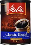 Melitta Classic Blend Medium Roast Ground Coffee, 11-Ounce (Pack Of 4)