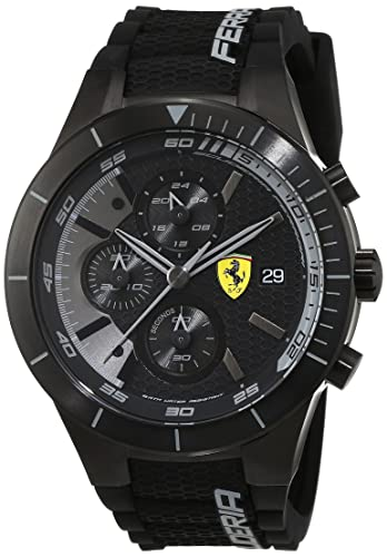 Scuderia Ferrari Reloj analógico para Hombre de Cuarzo con Correa en Silicona 0830262: Ferrari: Amazon.es: Relojes