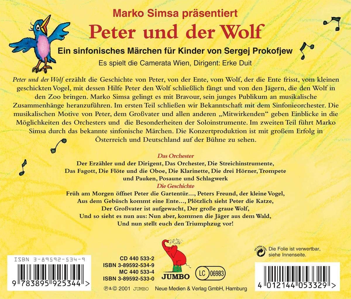 Peter und der Wolf - Marko Simsa: Amazon.de: Musik