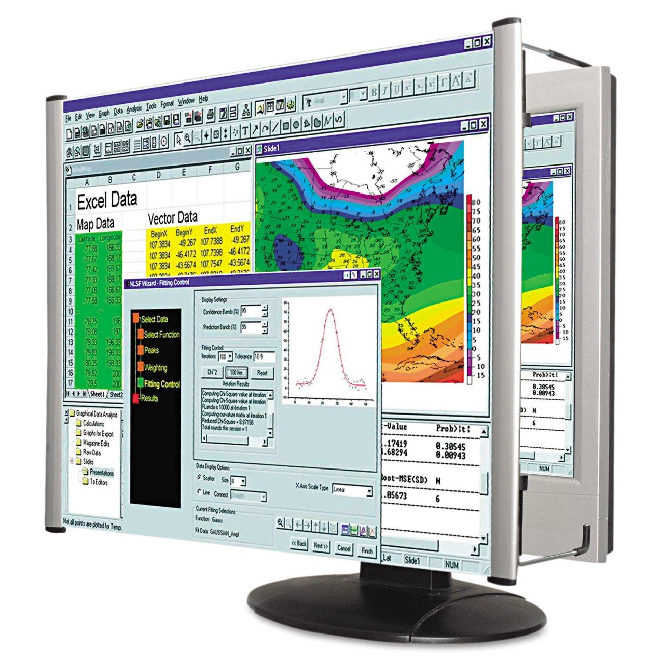 Kantek LCD Monitor Magnifier Filter, Fits 19 Inch Widescreen LCD Screens Measured Diagonally (MAG19WL) by Kantek