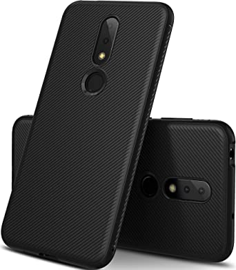 new concept 91f61 7d4c5 Geemai Nokia 6.1 Plus Case, Black Soft Cover for Nokia 6.1 Plus Covers  Shock Protection from Drops Phone Case Cover for Nokia 6.1 Plus Smartphone,  ...